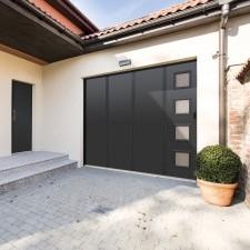Portes de garage coulissante