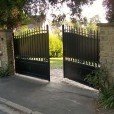 Portail Aluminium traditionnel