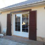 Pose menuiserie porte fenêtre PVC avec petits bois boulogne sur mer