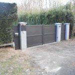 Portail + Portillon aluminium SIB Boulogne sur mer