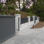 Portail coulissant aluminium / SIB