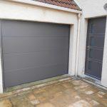 Porte entrée K-line Quadrige + Porte de garage HAROL
