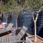 clôture brise vue aluminium laqué de type claustra Boulogne Sur Mer/Condette/ hardelot-Plage