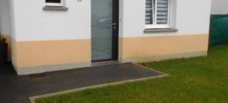 Pose Porte entrée vitrée aluminium K-LINE - boulogne sur mer