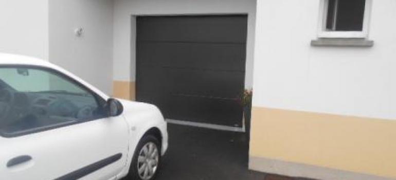 Porte de garage sectionnelle motorisation SOMFY Boulogne sur mer