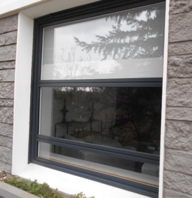 fenêtre fixe aluminium k-line boulogne sur mer