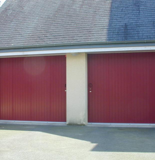 porte de garage coulissante sib alu