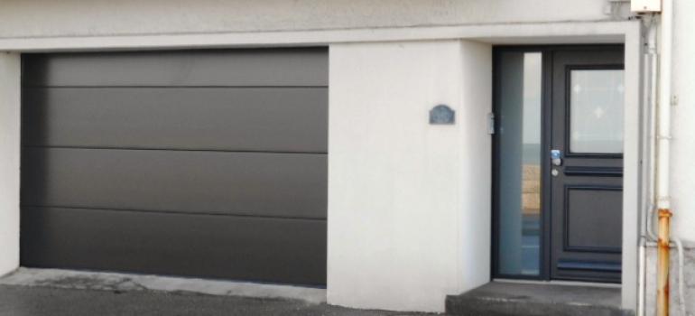 Porte de garage sectionnelle et porte d 39 entree boulogne for Porte de garage boulogne sur mer