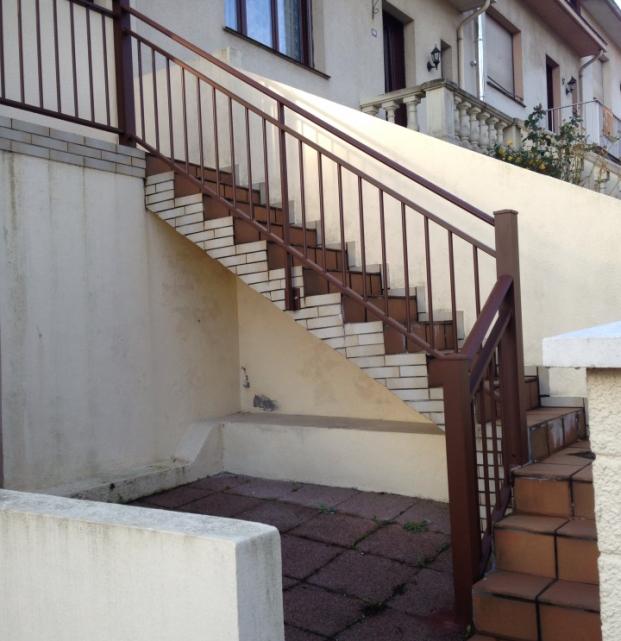 garde corps rampe escalier
