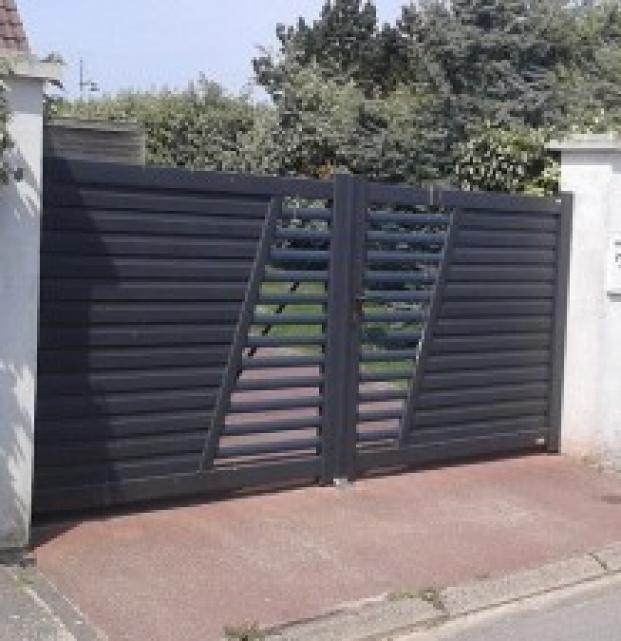 portail gris
