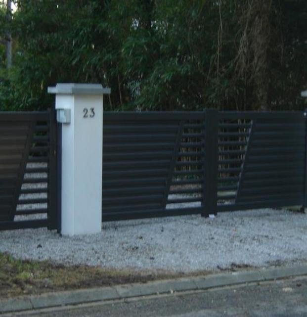 portail portillon gris2