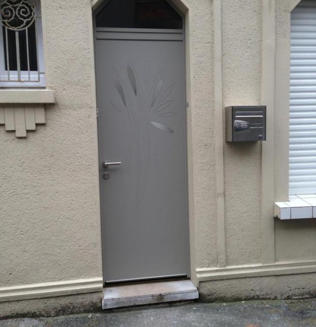 porte entrée bois alu2